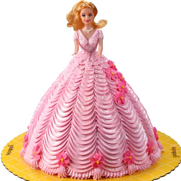 Magnificent Doll Cake Funny Birthday Cards Online Sheoxdamsfinfo
