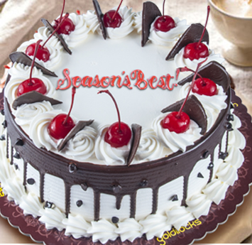 Chocolate Cherry Torte Cake Goldilocks
