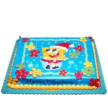 Santa Spongebob