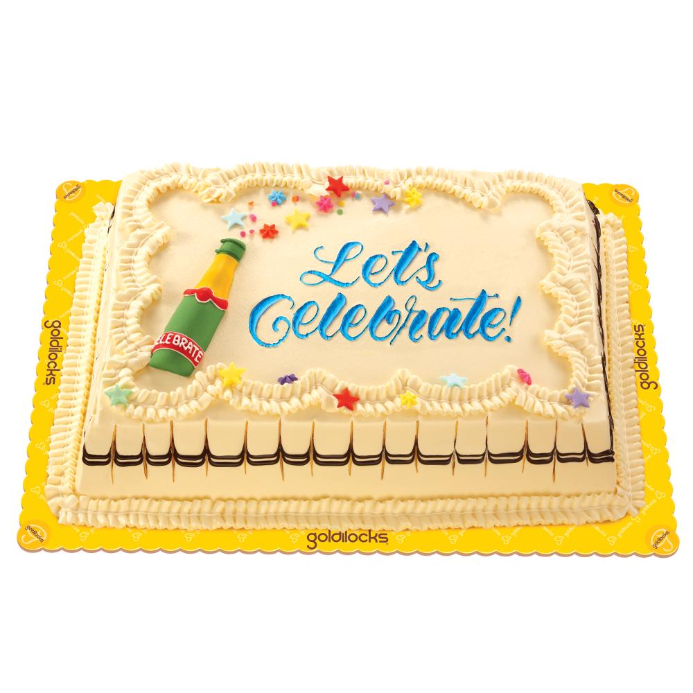 Marble Chiffon Greeting Cake