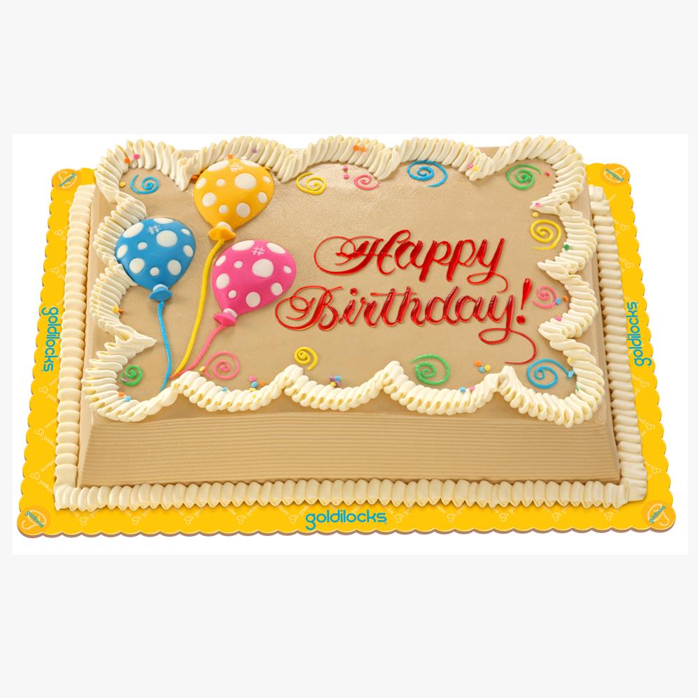 Goldilocks Dedication Cakes Price List