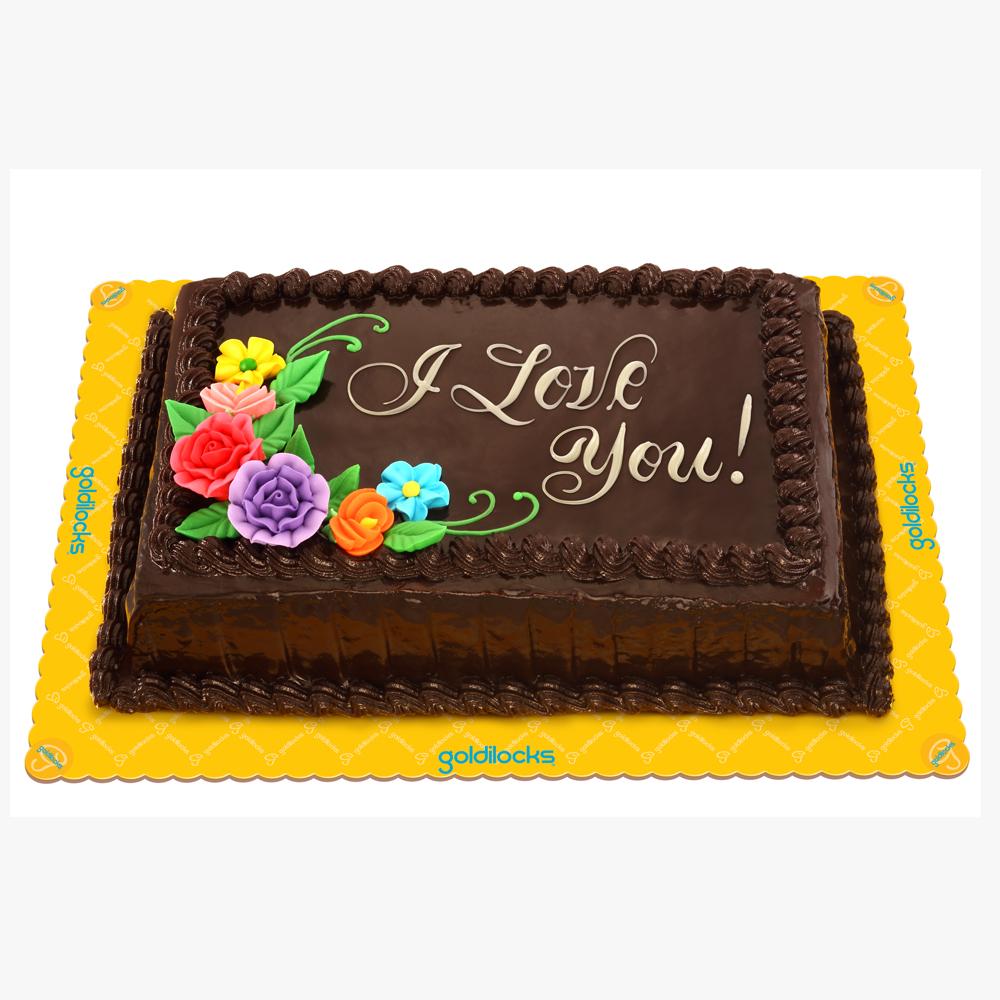 Goldilocks Chocolate Cake Images : Choco Chiffon