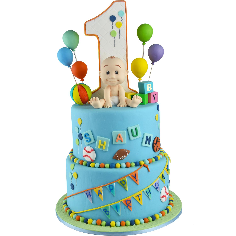Shaun 1st Birthday Fondant