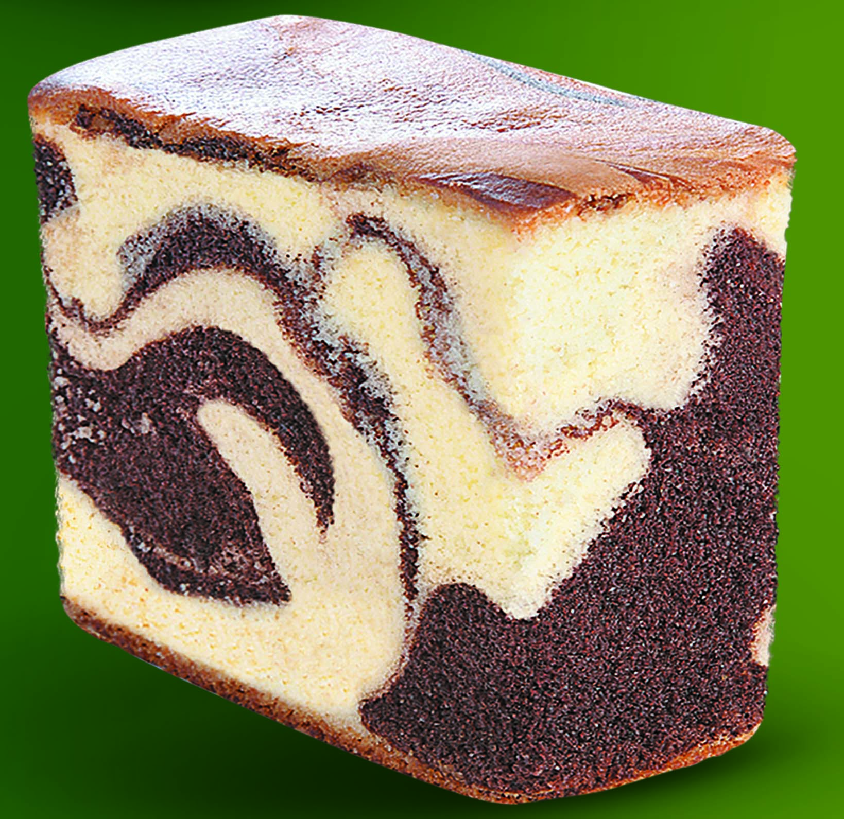 Heavenly Marble Cake Slice