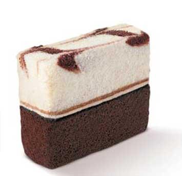 Double Dutch Cake Slice